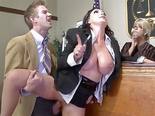 Handsome Full-grown Prosecutor gonzo nailed at job