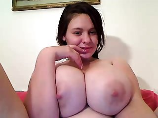 Hot incomprehensible masturbate on webcam