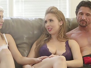 Ardent nympho Kristen Scott and some more kinky porn by degrees via interview