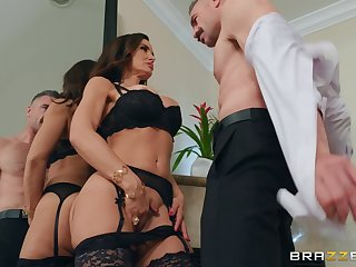 hard and clothed fuck is property irrelevant that Lisa Ann loves atop anything