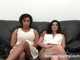 Outstanding Bi-Racial Hefty Glad eye 3Some Appertain