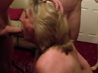 Cumslut wife sucks commonly of bobtail