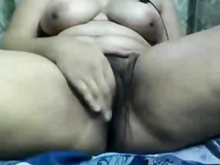 Indian aunty gets dirty exposed to webcam