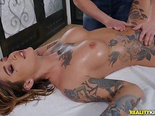 Astounding Kleio Valentien in unreasoned palpate porn scenes