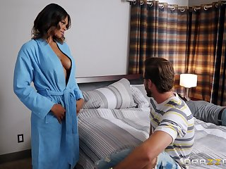 Alluring guy alongside a long shaft is all approximately Halle Hayes thinking all girlfriend