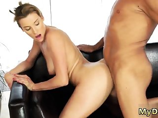 partner's lady flirts with daddy Sex with her