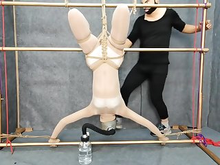 Amazing sex scene Hogtied try to await for ever seen