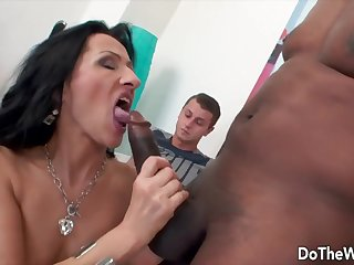 Cuckolds Heeding Their Wives Suck a Big Cock Compilation 14
