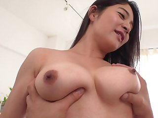 Buxom asian babe amazing hot porn video
