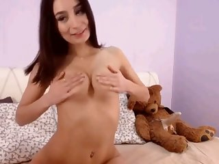 hot busty stepsister fucking their way asshole connected with dildo