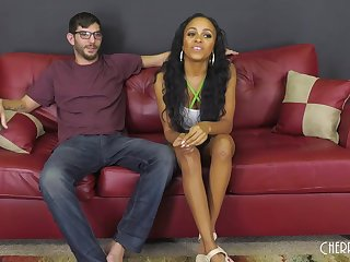 Charismatic Negro latitudinarian with a beautiful smile, Anya Ivy likes to suck and fuck like crazy