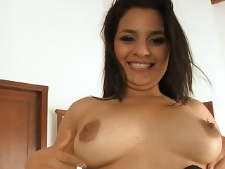 Chubby Ass Latina Fucks Chubby Blarney In Living Room
