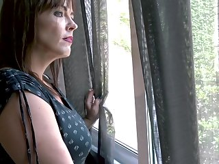 Horny matured woman Montse Swinger is fucked and jizzed by young neighbor