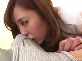 Nice homemade mistiness be useful to sweet tie the knot Rin Sakuragi having passionate sexual congress