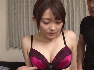 Wild MMF fucking at house alongside seductive Asian chick Hitzuki Rui