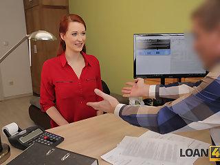 LOAN4K. Tempting redhead wants a vet sickbay added to knows