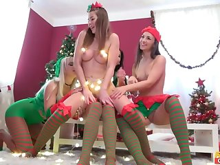 Saucy Little Elves Thing Xmas